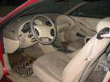 2000 Ford Mustang Coupe 3.8L AODE Transmission- Red - Image 3