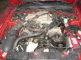 2000 Ford Mustang Coupe 3.8L AODE Transmission- Red - Image 4