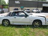 1989 Ford Mustang 5.0 Auto AOD - White - Image 2