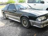 1989 Ford Mustang 5.0 5-Speed - Black & Silver - Image 2