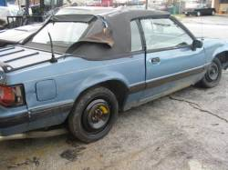 1989 Ford Mustang 5.0 HO Automatic AOD - Blue - Image 1