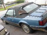 1989 Ford Mustang 5.0 HO Automatic AOD - Blue - Image 2