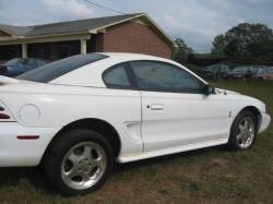 Parts Cars - 1995 Ford Mustang 5.0 Cobra T-5 - White
