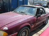 1989 Ford Mustang 5.0 AOD Automatic - Burgundy - Image 2