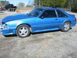 1989 Ford Mustang 5.0 HO T-5 Five Speed - Blue - Image 1