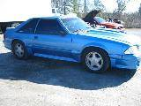 1989 Ford Mustang 5.0 HO T-5 Five Speed - Blue - Image 2