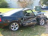 2001 Ford Mustang 4.6L SOHC Automatic- Black - Image 3
