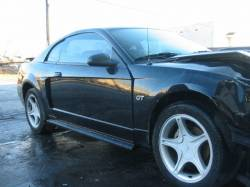 2001 Ford Mustang 4.6L SOHC 3650- Black