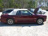 1989 Ford Mustang 5.0 HO AOD Automatic - Burgundy - Image 2
