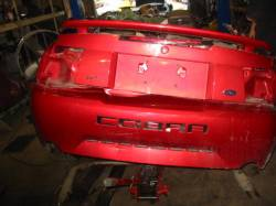 2001 Ford Mustang 4.6L DOHC 3650- Red - Image 1