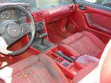 1989 Ford Mustang 5.0 AOD Automatic - Red - Image 3
