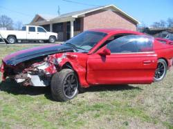 Parts Cars - 1995 Ford Mustang 5.0 Cobra 5-Speed - Red