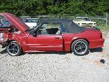 1989 Ford Mustang 4.6 L V8 5 Speed - Red - Image 2
