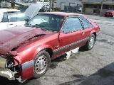 1990 Ford Mustang 5.0 Automatic - Red - Image 2