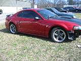 2001 Ford Mustang 4.6 AOD-E- Red & Black - Image 2