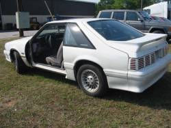 1990 Ford Mustang 5.0 5 Speed - White - Image 1