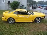 1995 Ford Mustang 5.0 -Cobra Intake 5-Speed - Yellow - Image 2