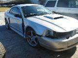 2001 Ford Mustang Coupe 4.6 2V 3650- Silver - Image 2
