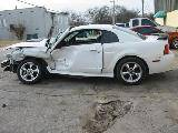 2001 Ford Mustang 4.6 AOD-E Automatic- White - Image 2