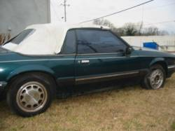 1990 Ford Mustang 4 cyl. Automatic - Green - Image 1