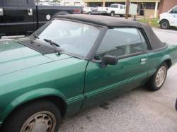 1990 Ford Mustang BLOWN Automatic - Green - Image 1
