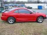 1995 Ford Mustang 5.0 5 Speed - Red & Black - Image 2