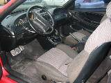1995 Ford Mustang 5.0 5 Speed - Red & Black - Image 3