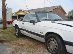 1990 Ford Mustang 5.0 HO Automatic - White - Image 1