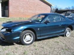 1995 Ford Mustang V-6 Automatic - Green - Image 1