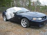 2001 Ford Mustang 4.6 T-3650 Five Speed- Blue - Image 2