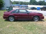 1990 Ford Mustang 5.0 5-Speed - Burgundy - Image 2
