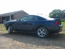 2002 Ford Mustang 4.6 Automatic- Blue