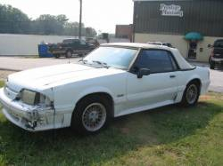 1990 Ford Mustang 5.0 Automatic - White - Image 1