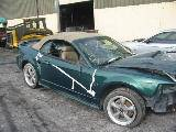 2002 Ford Mustang 4.6L SOHC Automatic- Green - Image 2