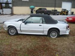 1990 Ford Mustang 5.0 5-Speed - White - Image 1
