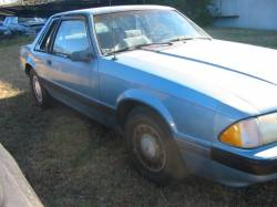 1990 Ford Mustang 2.3 4 Cyl 5-Speed - Blue - Image 1