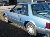 1990 Ford Mustang 2.3 4 Cyl 5-Speed - Blue - Image 2