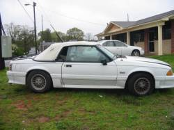 1990 Ford Mustang 5.0 HO Automatic AOD - White - Image 1