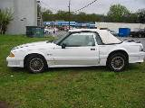1990 Ford Mustang 5.0 HO Automatic AOD - White - Image 2