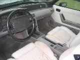 1990 Ford Mustang 5.0 HO Automatic AOD - White - Image 3
