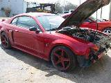2002 Ford Mustang 4.6 3650- Red - Image 2