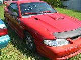 1995 Ford Mustang 6-Cyl AOD-E - Red - Image 2