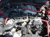 1995 Ford Mustang 6-Cyl AOD-E - Red - Image 4