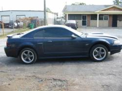 2002 Ford Mustang 4.6 AODE Automatic- Blue