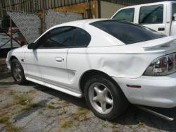 Parts Cars - 1995 Ford Mustang 5.0 Automatic - White