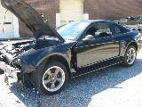 2002 Ford Mustang 4.6 AOD-E Automatic- Black - Image 2