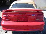 1995 Ford Mustang 5.0 Automatic-AODE - Red - Tan Top - Image 5