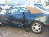 1995 Ford Mustang 5.0 HO Automatic AODE - Blue/Green - Image 2