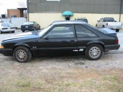 1990 Ford Mustang 5.0 T-5 5 Speed - Black - Image 1