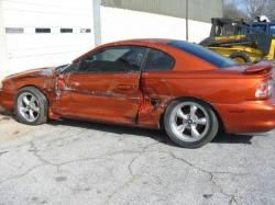 1995 Ford Mustang 5.0 5-Speed T-5 - Orange